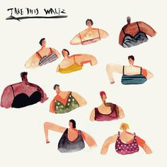 take this waltz on Behance