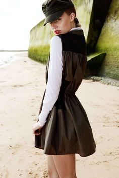 Seaside Military Fashion : Grazia Germany October 2012