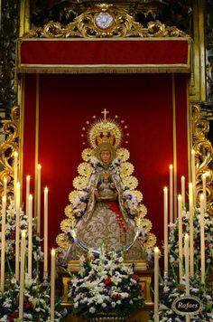 Quinario a la Virgen del Rocio de Sevilla el Salvador:::RAFAES