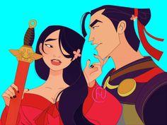 *MULAN & LI SHANG ~ Mulan