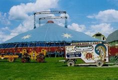 Circus Hall of Fame in Peru, IN, winter home to traveling circuses Peru History, Circus City, Lets Run Away, Big Top, Vintage Circus, Winter House, Cool Places To Visit, Indiana Bicentennial, Gazebo