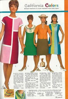 sears catalog 1960'S   17 Best images about 60's catalog fashions on Pinterest   Dress skirt ...