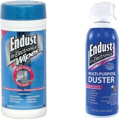 Endust for Electronics - Electronics Duster and Anti-static Wipes Kit