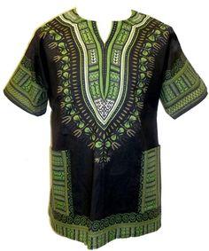 EaonPlus UNISEX Cotton BOHO Dashiki Shirt to Womens size 16-28 & Men sizes L-4XL - dev Fashion Closet