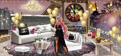 Mariasha INT version  B-day contest week 1