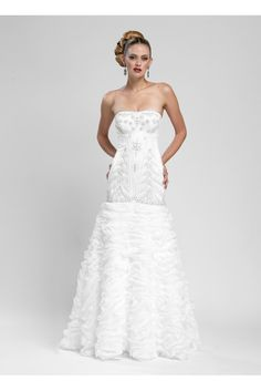 The Classic Wedding Gown W3403: Buy Sue Wong Dresses at the WS