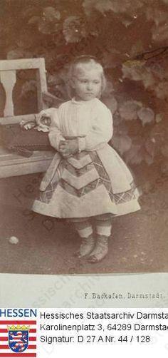 Princess Anna of Mecklenburg-Schwerin, daughter of Princess Anna of Hesse.