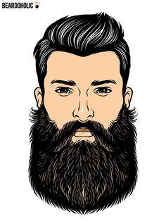 Best Impressive Beard Styles Without Mustache - The Beardians Types Of Beard Styles, Long Beard Styles, Types Of Beards, Soul Patch, Amish Beard, Beard Neckline, Hipster Stil, Beard Logo, Backdrops