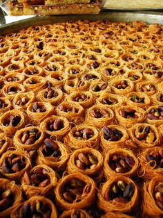 Arabian Sweets - Ish al Bilbol, Aleppo, Syria 2009