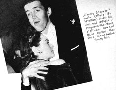 Jimmy Stewart & Olivia de Havilland, 1940