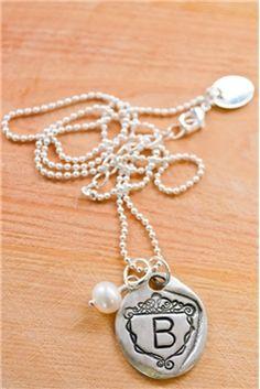 petite family crest necklace...H please  :)