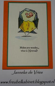 Bird Crazy. Text: Rubbernecker stamps