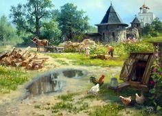 Vladimir Zhdanov, 1959 | Siberian landscape painter