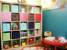 setting up a play nook in a small space — talkin' chow playin