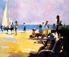 Beach Life a limited edition print by David Farrant