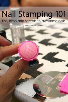 Nail stamping can give awesome details to nails. These tips and tricks make it doable at home.