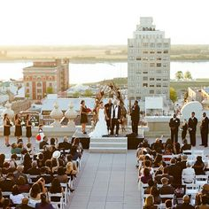 A wedding on top of Memphis Peabody Hotel, on Union Ave. You can see the Mighty Mississippi River,  from the roof…… I Love This Place….. MY ONCE HOME/ MEMPHIS!!!