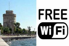 Τα τέσσερα σημεία της Θεσσαλονίκης οπού υπάρχει ήδη δωρεάν ίντερνετ  Πρόκειται για την πλατεία Αριστοτέλους (HOL), την πλατεία Αίνου (κοντά στο γήπεδο του Άρη, στην οδό Μαρασλή), το πάρκο Καούδη, στην οδό Μακεδονίας, και την πλατεία Πέτρου Συνδίκα (Συνδίκα και Σόλωνος Thessaloniki, Greece, Company Logo, Internet, Greece Country