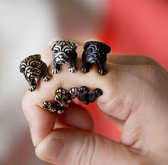 CUTE DOG ADJUSTABLE RING //Price: $17.99 & FREE Shipping // #cutiestuffsite