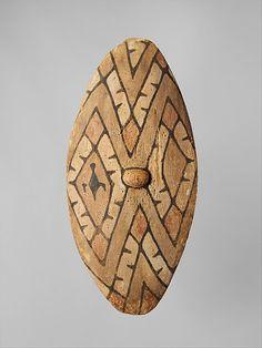 Aboriginal shield, North Queensland rainforest peoples, Australia.