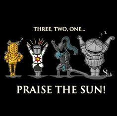 Tres Dos Uno Praise the sun