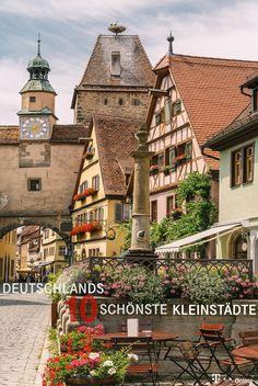 Reisen: Für einen Städtetrip müssen Sie nicht immer nach Berlin, Münschen oder Hamburg fahren! Eine echte Alternative sind romantische und aufregende Kleinstädte in Deutschland, die Sie garantiert noch nicht gesehen haben. Das sind die 10 schönsten Kleinstädte Deutschlands. . . Bildquelle: Getty-Images/vichie81