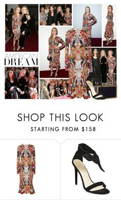 """2017 New York Fashion Week: Naeem Khan F/W 2017 Presentation~ Peyton List"" by snugget9530 ❤ liked on Polyvore featuring Naeem Khan and GUESS by Marciano"