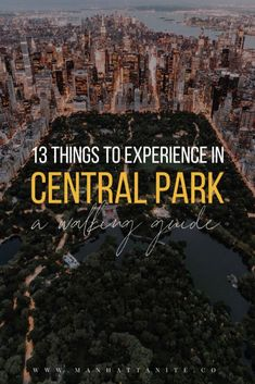 A green lung in the concrete jungle of New York City, Central Park is an amazing place to visi. New York Trip, New York City Travel, Tour New York, Map Of New York, London City Guide, Amsterdam City Guide, Us Travel Destinations, Holiday Destinations, Usa Travel Guide