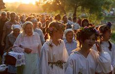 Summer Solstice celebrations, Noc Świętojańska w skansenie w Lublinie (fot. PAP/ Wojciech Pacewicz ) | turystyka.wp.pl