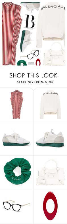 """""""One brand only:Balenciaga"""" by pokadoll ❤ liked on Polyvore featuring Balenciaga, polyvoreeditorial and polyvoreset"""