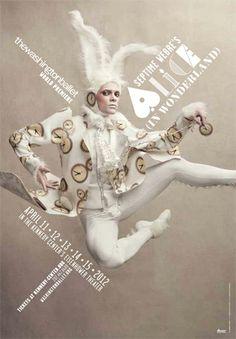 Poster, Washington Ballet, Alice (in Wonderland) by Design Army.