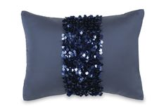 pillows decorative | Home / Bedding / Decorative Pillows / DKNY Serenity Sequin Cluster ...