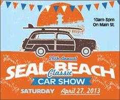 26th Annual Seal Beach Classic Car Show #carshows