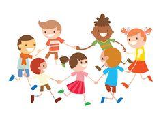 Crianças de volta a dança. Festa dançante em baby club ilustração - ilustração de arte em vetor