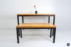 Ene wood #design #wood #furniture #casah #table #home #decoration