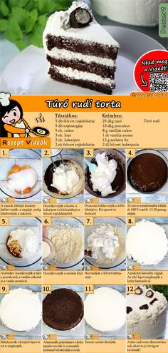 The Curd snack cake is an amazing dish you have to try at least once! But trust me, you'll try it a second and third time as well! You can easily find the Curd Snack Cake recipe by scanning the QR code in the top right corner! Jaffa Cake, Hungarian Recipes, Hungarian Food, Oreo Cake, Baking Tins, Clean Eating Snacks, Quiche, Cookie Recipes, Sweet Tooth