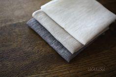 +UGUiSU Blog: Beautiful Japanese New Linen Items