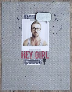 Hey Girl by lifelovepaper at Studio Calico