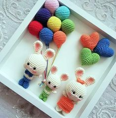 Mesmerizing Crochet an Amigurumi Rabbit Ideas. Lovely Crochet an Amigurumi Rabbit Ideas. Amigurumi Doll, Amigurumi Patterns, Crochet Motifs, Crochet Patterns, Crochet Dolls, Knit Crochet, Crochet Animals, Crochet Birds, Stuffed Toys Patterns