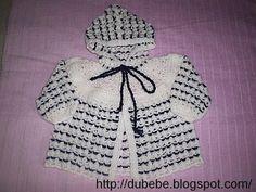 casaquinhos de bebe em croche - Pesquisa Google