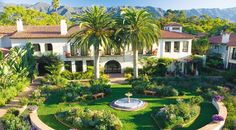 El Encanto, Santa Barbara. Where I stayed the night before my wedding,  and Josh and I stayed on our wedding night