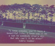 eddie vedder.  @