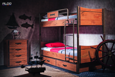 Read all about the Kids Adventure Pirate and Turbo Race Car Furniture collections at Bellissihome. 3 Bunk Beds, Ikea Bunk Bed, Modern Bunk Beds, Kid Beds, Newborn Room, Car Furniture, Hidden Bed, Table Seating, Boy Room