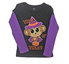 SO® Halloween Girls Trick or Treat Monkey Witch Graphic Tee - Small (7/8) SO® http://www.amazon.com/dp/B00LV58GPY/ref=cm_sw_r_pi_dp_FktYtb1813H4PNHN