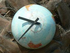 DIY globe clock