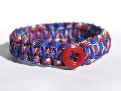 Happy Hump Day! Featured style of the week: our brand new Patriotic Peace Cord.