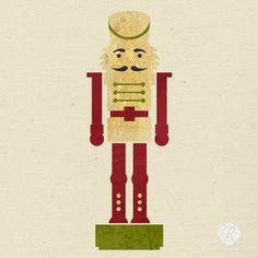 Nutcracker Figure Craft Stencils for DIY Christmas Home Decor - Royal Design Studio