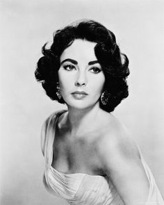 Elizabeth Taylor. She was one sassy broad. I love how she never gave up on love. She had the most beautiful violet eyes.