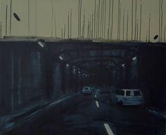autostrada wolności_44 '2017 / acrylic on canvas, 100x120 / ewa bloom k.