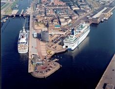 Felison Terminal in IJmuiden, gateway to Amsterdam and the Netherlands.
